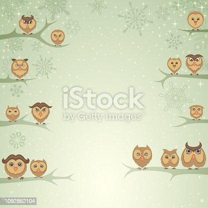 istock Winter Owls 1092862104