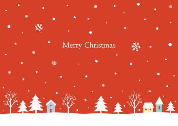 stockillustraties, clipart, cartoons en iconen met winter landschap-achtergrond - christmas cabin
