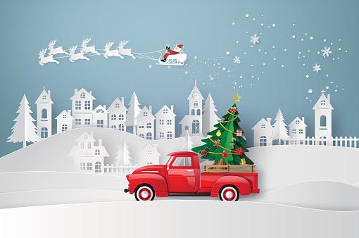 winter season and merry Christmas