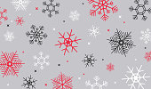 Winter holiday snow background.