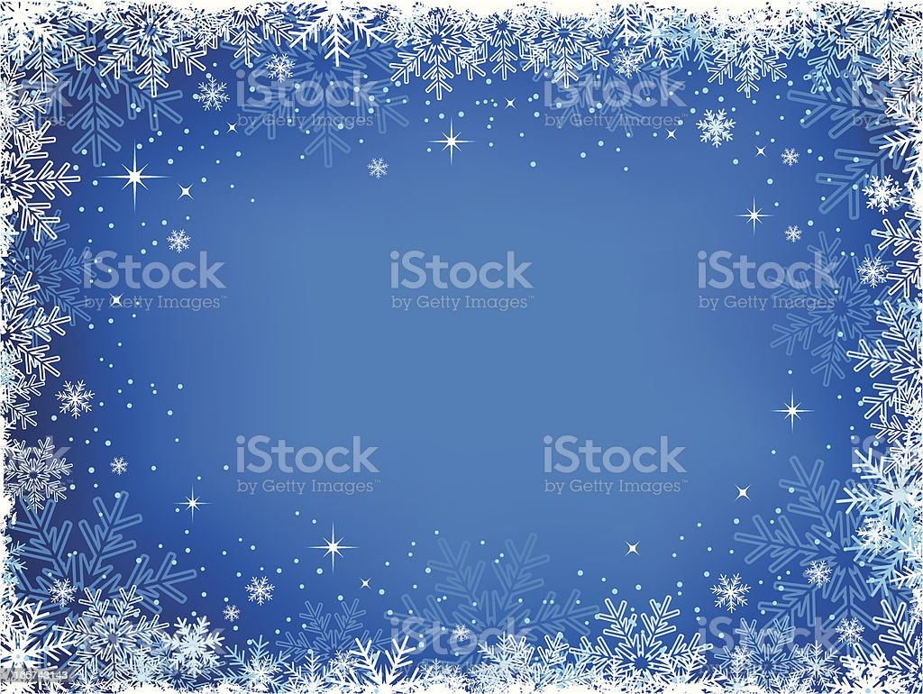 Winter Snow Background royalty-free winter snow background stock vector art & more images of backgrounds