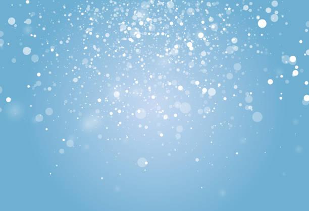 stockillustraties, clipart, cartoons en iconen met winter sneeuw burst - snowing