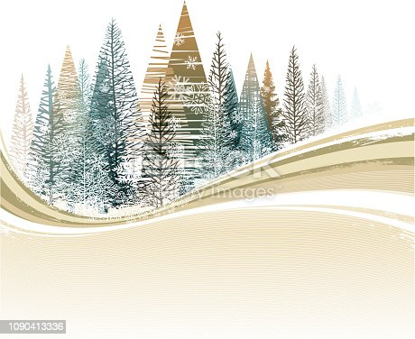 drawing of vector winter snowy sign. transparent. created by illustrator CS6.