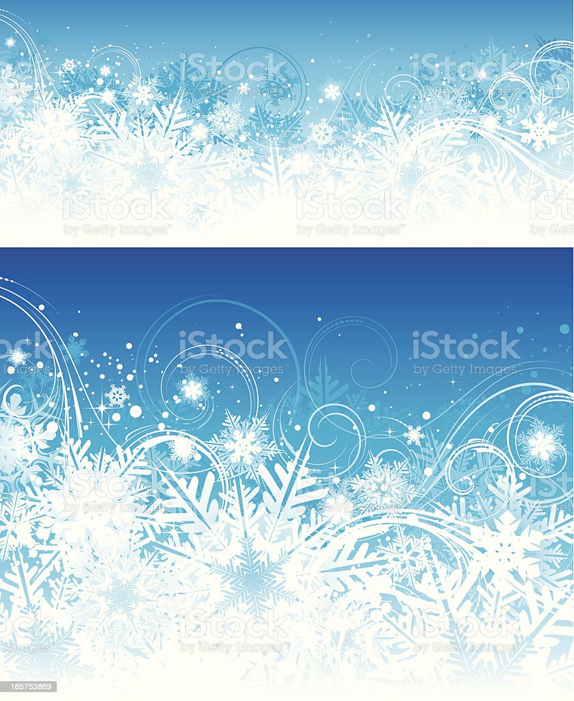 Winter snowflake backgrounds royalty-free winter snowflake backgrounds stock vector art & more images of backgrounds