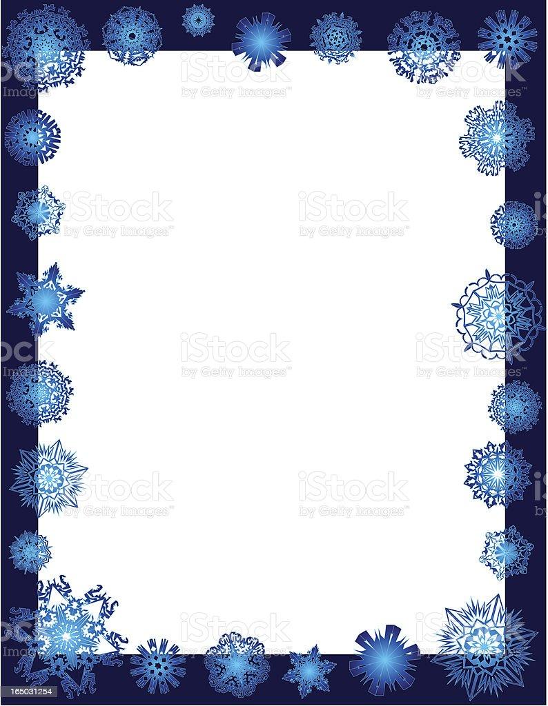 winter snowflakes frame stock vector art 165031254 istock