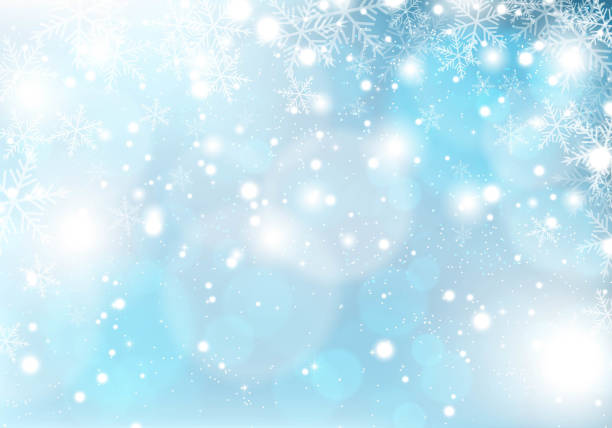 winter snowing christmas background Vector EPS 10 format. january stock illustrations