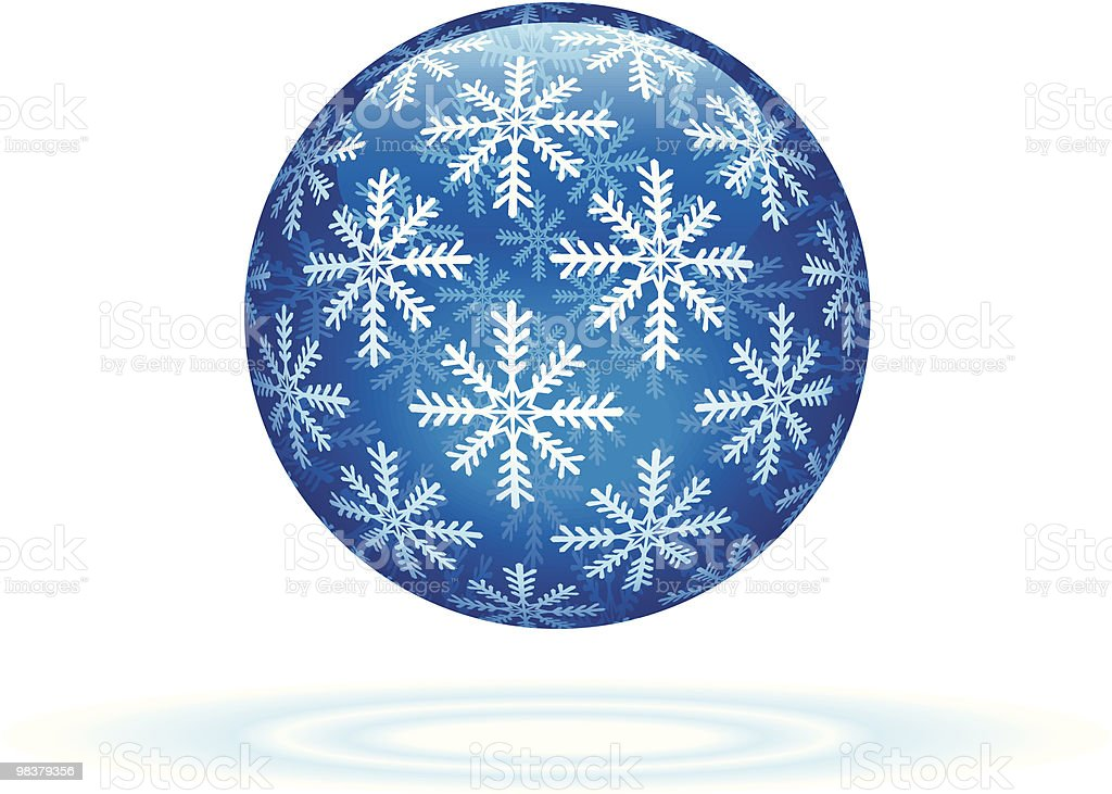 Winter Sphere royalty-free winter sphere stock vector art & more images of blue