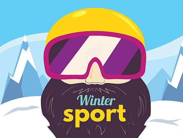 winter sport vector - google stock illustrations