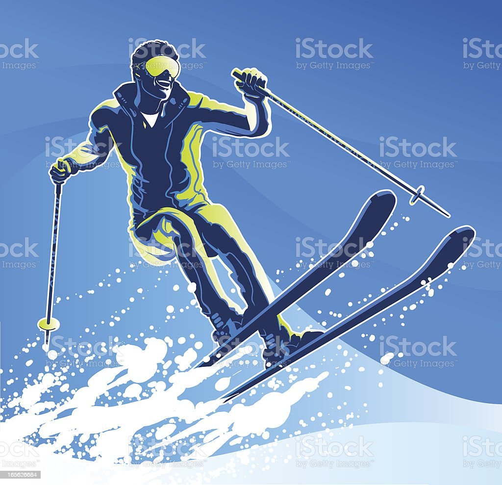 Winter Sports royalty-free stock vector art