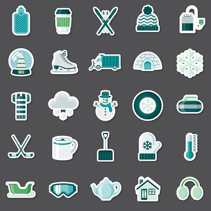 Winter Sticker Set