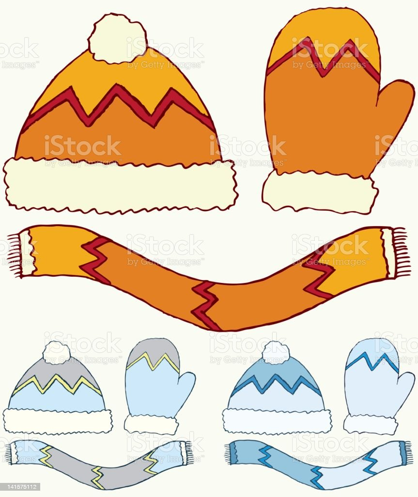 Winter Stuff royalty-free winter stuff stock vector art & more images of cartoon
