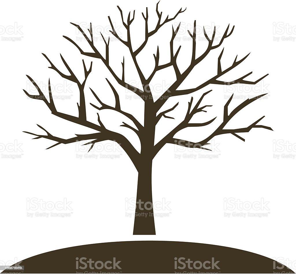 royalty free winter tree clip art vector images illustrations rh istockphoto com winter tree images clip art winter tree silhouette clip art