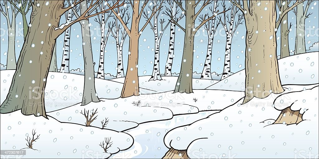 Winter royalty-free winter stock vector art & more images of backgrounds