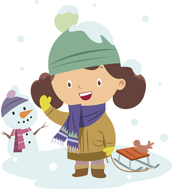 Best Cold Weather Clothing Illustrations, Royalty-Free Vector Graphics