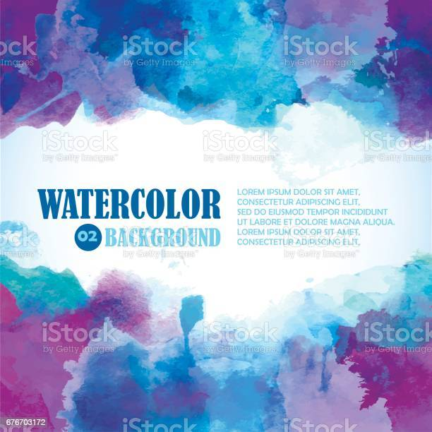 Winter watercolor background with artistic splashes and place for vector id676703172?b=1&k=6&m=676703172&s=612x612&h=d ktei0ff2cvptqetsoji buuh4enuhmjgvacrfsypu=