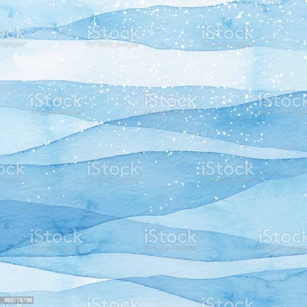 Winter watercolor blue background with snow vector id868776796?b=1&k=6&m=868776796&s=612x612&h=8tstfmyyd36ggg jtuy3h6lk07jborqeilwe6gjvjpi=