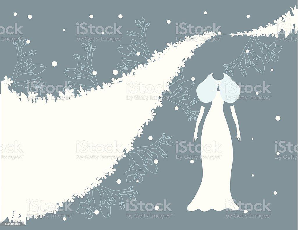 Winter Hochzeit Schneien Stock Vektor Art Und Mehr Bilder Von