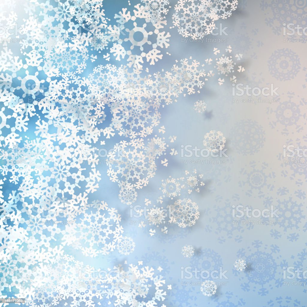 Winter with Christmas decoration. + EPS10 royalty-free winter with christmas decoration eps10 stock vector art & more images of abstract
