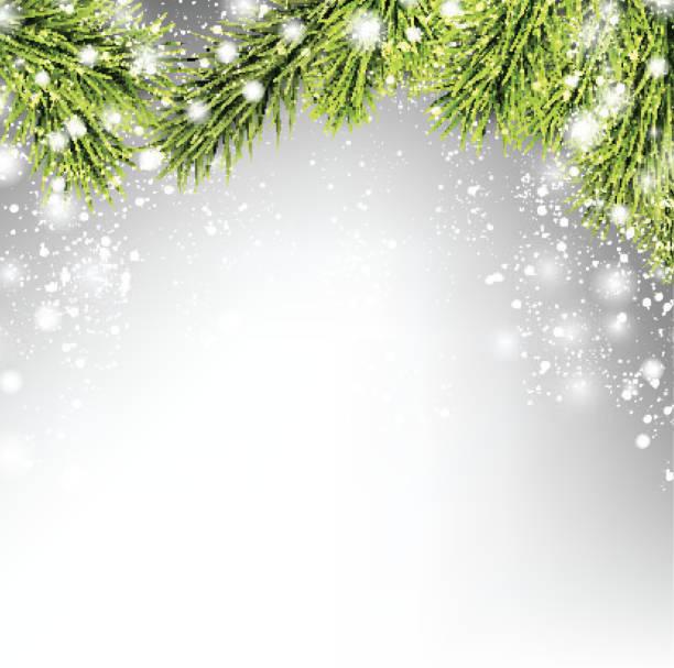冬クリスマスの背景 - 休日/季節ごとのイベント点のイラスト素材/クリップアート素材/マンガ素材/アイコン素材