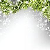 Winter xmas background
