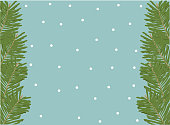 Winterly background - vector illustration. Usable for different purposes.