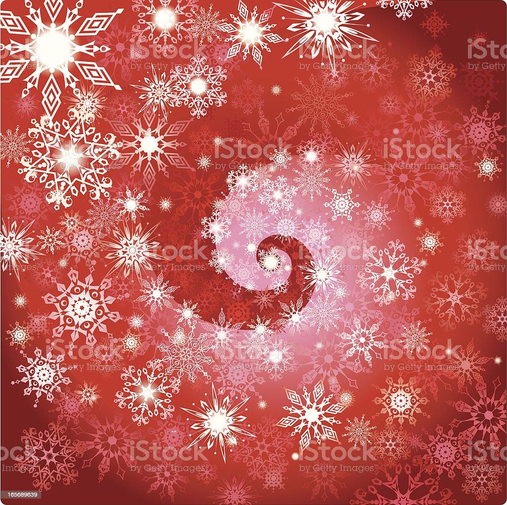 Winter's magic royalty-free stock vector art