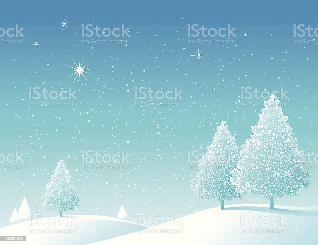 Wintry Scene royalty-free wintry scene stock vector art & more images of abstract
