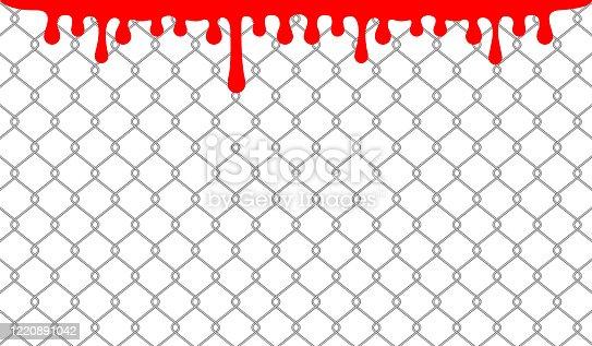 wire, blood, barb, barbed, mesh, fence, jail, flow, bloody, metal, prison, security, barrier, sharp, danger, frame, wall, iron, detain, grid, horror, pain, chain, dirty, prevention, imprison, prevent, tile, guard, splash, risk, hazard, defense, war, splatter, spill, grunge, brutal, silhouette, drop, steel, death, macabre, cage, enclosure, safety, crime, drip, painful, penal;