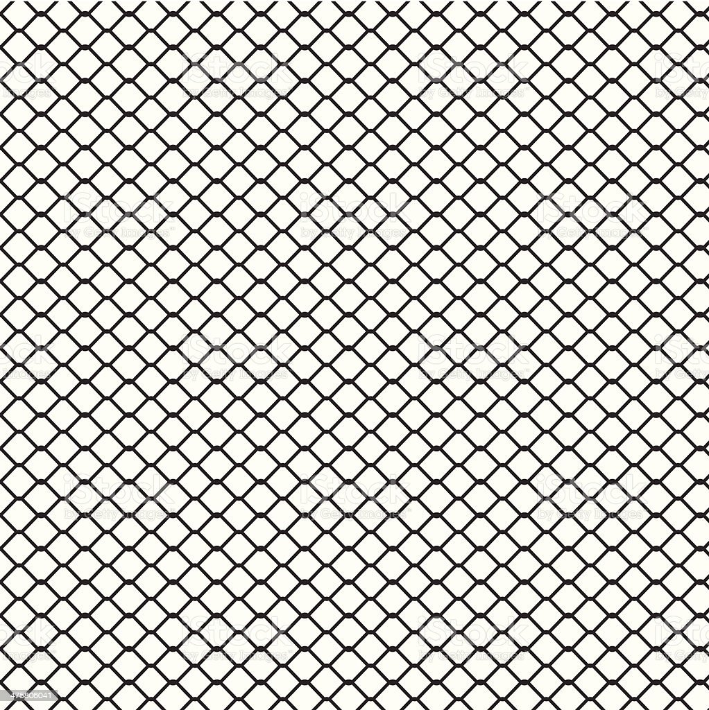 Wire Fence Background Stock Vector Art & More Images of Backgrounds ...