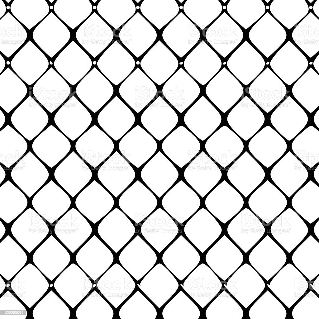 Wire Fence Pattern Vector Illustration Stock Vector Art & More ...