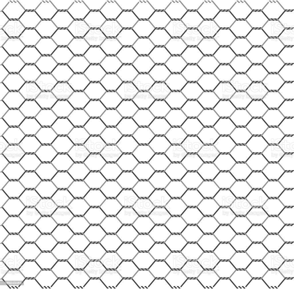Wire Netting Stock Vector Art & More Images of Chain 165043463 | iStock