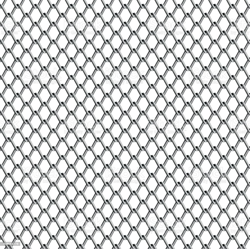 Wire Netting Vector Stock Vector Art & More Images of Chain ...