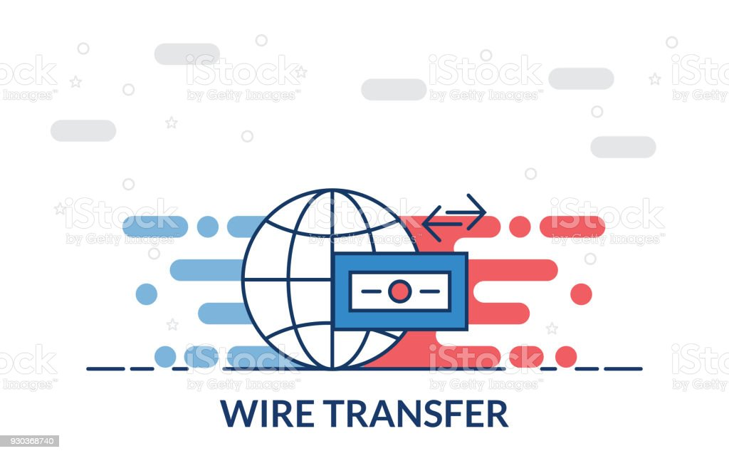 Wire Transfer Icon Stock Vector Art & More Images of Bank 930368740 ...