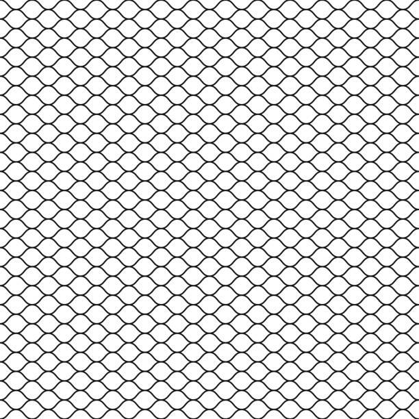 Best Fishnet Texture Illustrations Royalty Free Vector