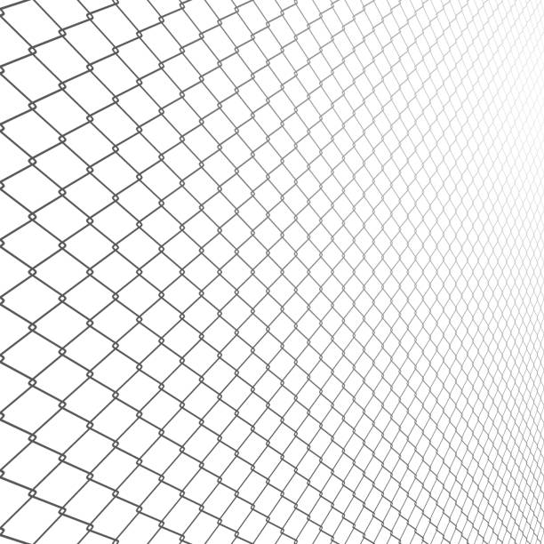 Royalty Free Chain Link Fence Clip Art, Vector Images ...
