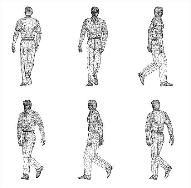 Royalty Free Human Representation Clip Art, Vector Images