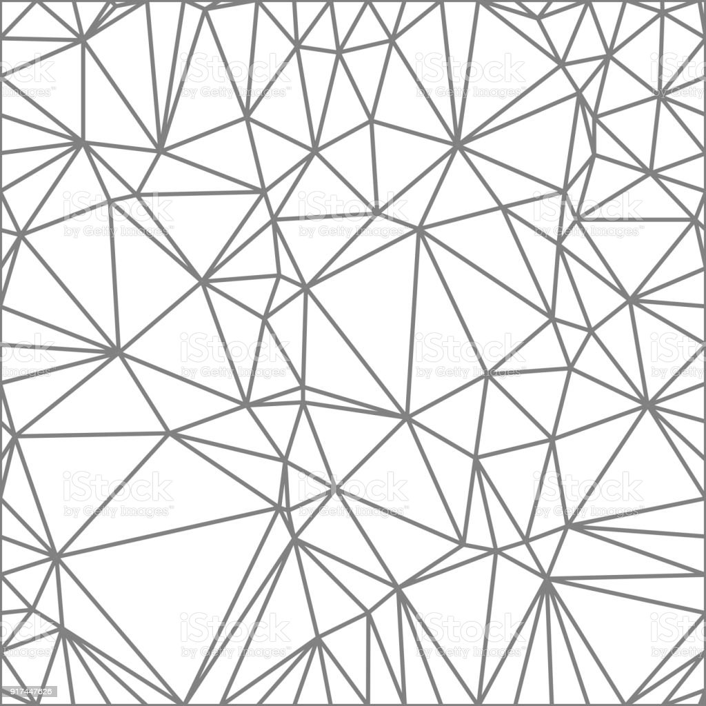 wireframe polygonal abstract mesh vector polygon which consist of