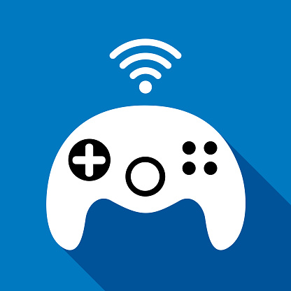 Wireless Game Controller Icon