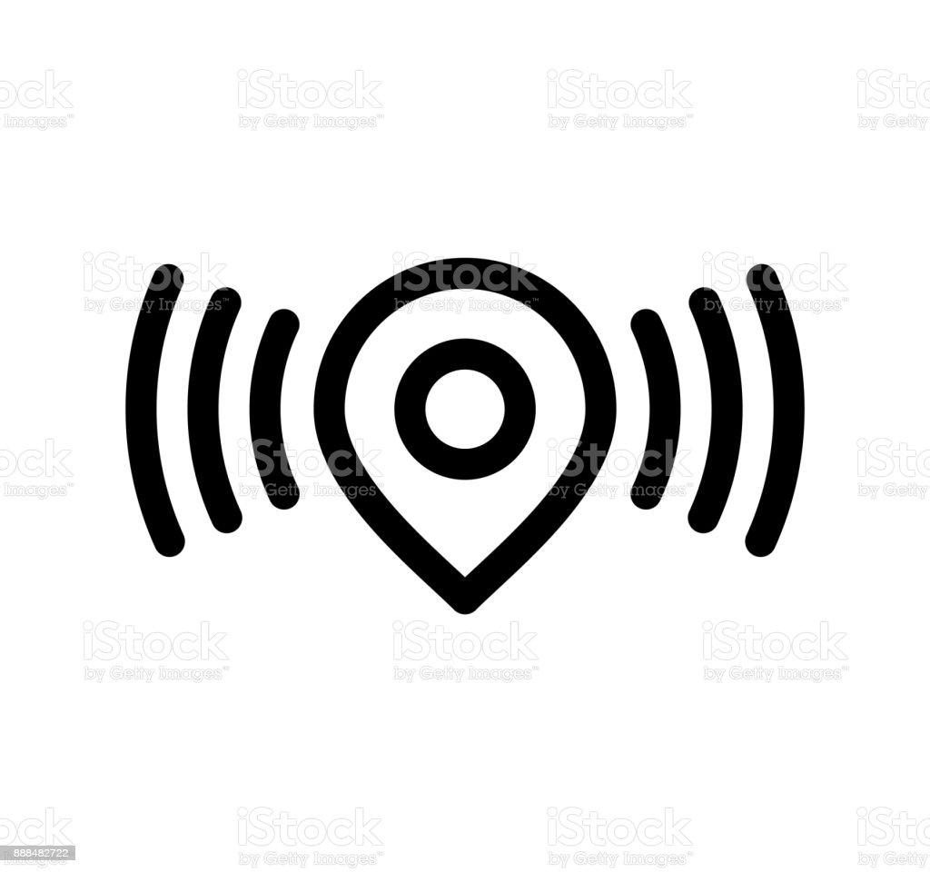 Wireless Location Pin