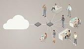 Wireless Router Diagram