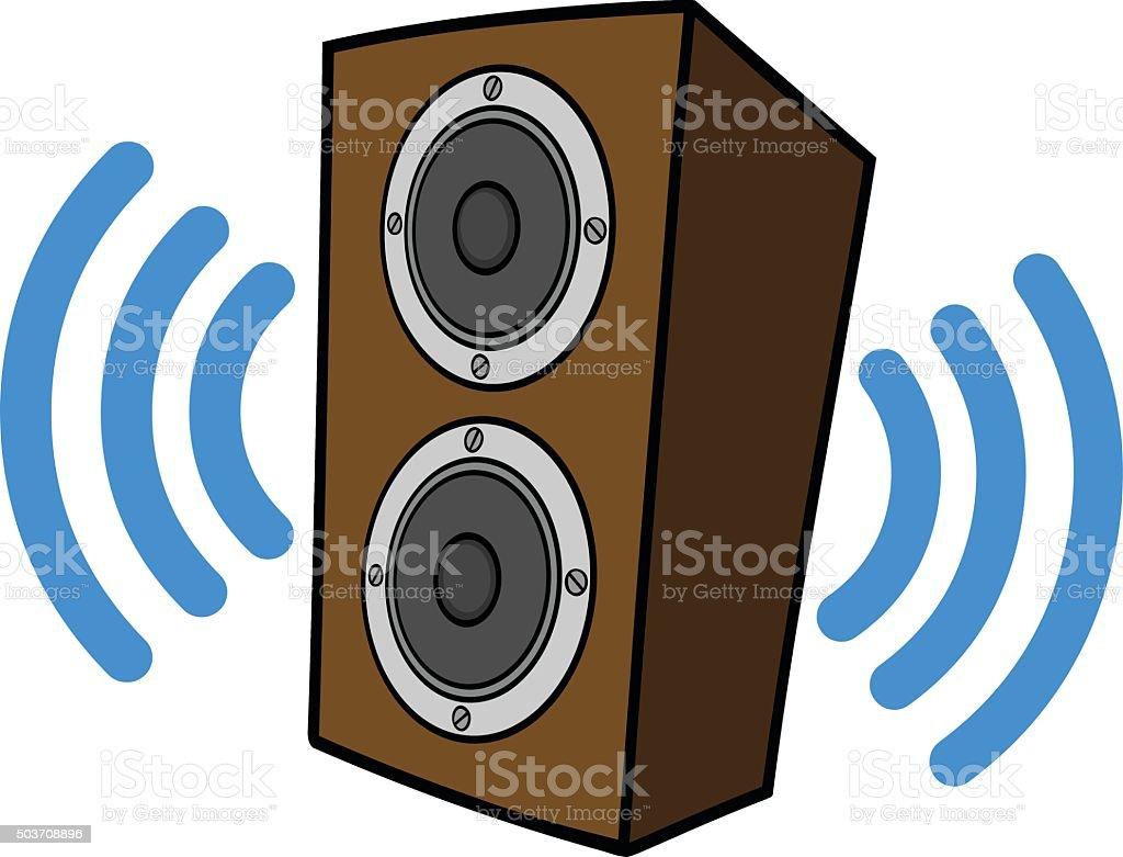 Royalty Free Speaker Box Clip Art  Vector Images