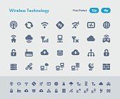 Wireless Technology - Ants Icons