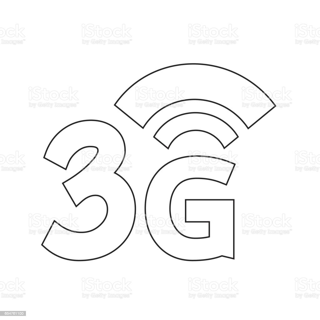 3g wireless wifi icon stock vector art more images of 3g 654761100 Green WiFi 3g wireless wifi icon royalty free 3g wireless wifi icon stock vector art