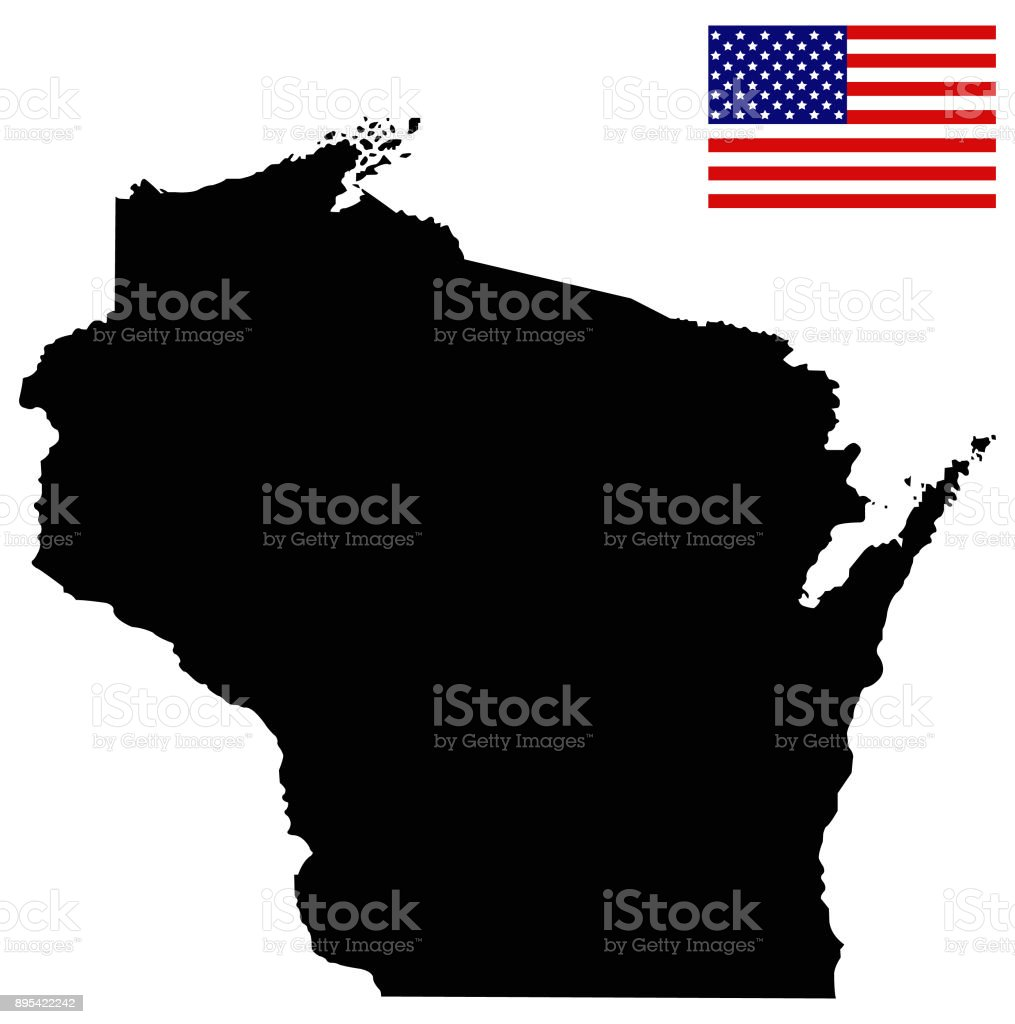 Wisconsin Map With Usa Flag Stock Vector Art & More Images of ... on wisconsin world map, wisconsin weather map, wisconsin road maps, wisconsin atlas map, wisconsin state flags, home of usa, wisconsin map of islands, wisconsin street map, wisconsin illinois map,
