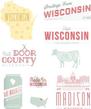 Wisconsin Typography