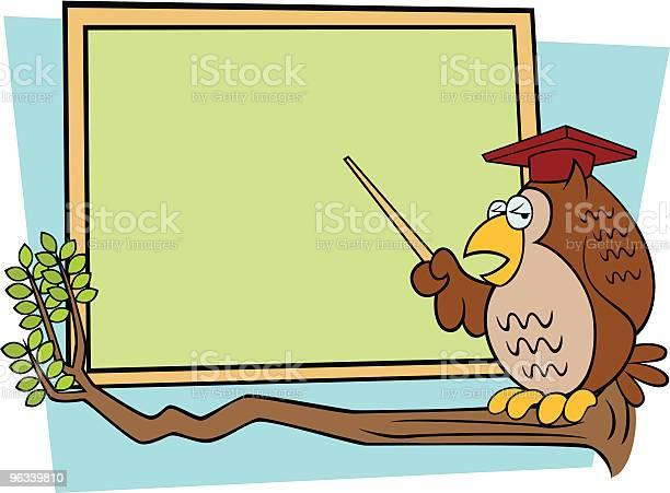 Mądra Stary Owl - Stockowe grafiki wektorowe i więcej obrazów Autorytet