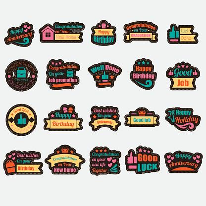 Wish badges