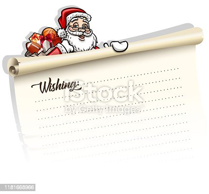 drawing of vector Christmas wishing card sign. Created by illustrator cs6. This file of transparent.