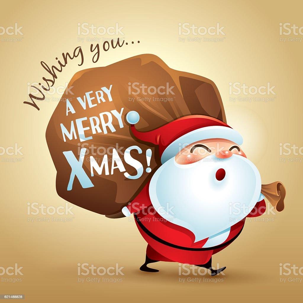 Wishing you a very Merry Christmas! wishing you a very merry christmas - immagini vettoriali stock e altre immagini di allegro royalty-free