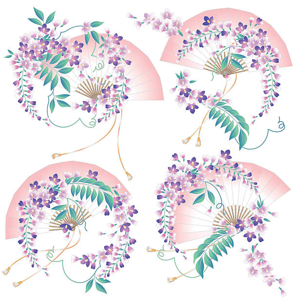 Best Wisteria Illustrations, Royalty-Free Vector Graphics ...